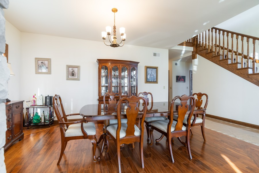Real Estate Photography - 5336 175th Street, Tinley Park, IL, 60477 - Dining Room