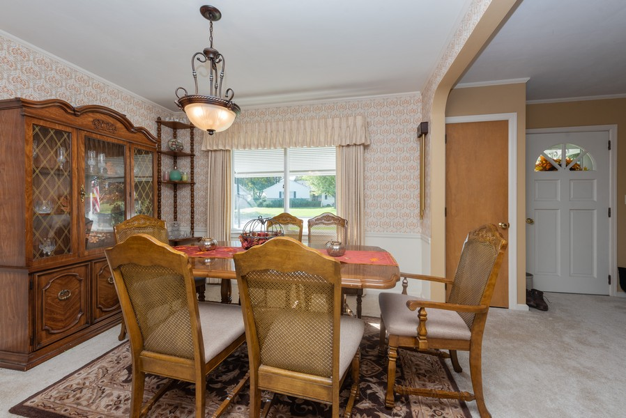 Real Estate Photography - 288 Wisconsin Street, Mayville, WI, 53050 - Dining Room