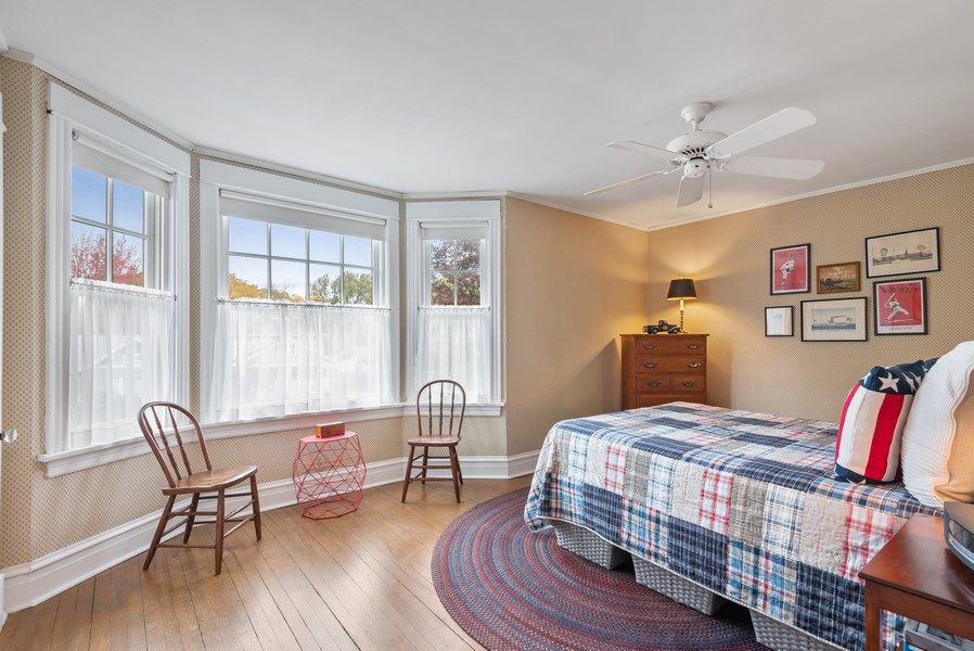 Real Estate Photography - 1621 Lake Ave., Wilmette, IL, 60091 - 2nd Bedroom