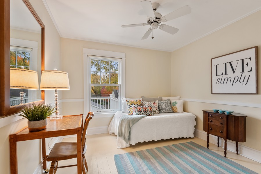 Real Estate Photography - 1621 Lake Ave., Wilmette, IL, 60091 - 3rd Bedroom