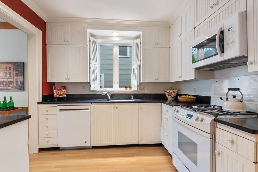 Real Estate Photography - 1621 Lake Ave., Wilmette, IL, 60091 - Kitchen
