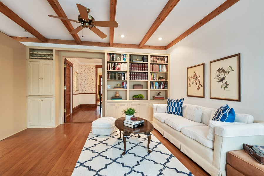 Real Estate Photography - 1621 Lake Ave., Wilmette, IL, 60091 - Family Room