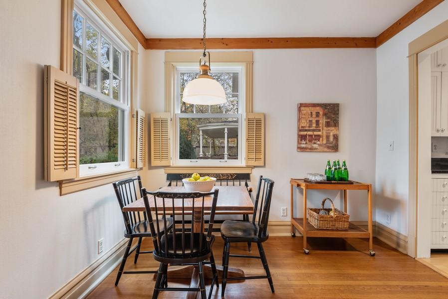 Real Estate Photography - 1621 Lake Ave., Wilmette, IL, 60091 - Breakfast Area