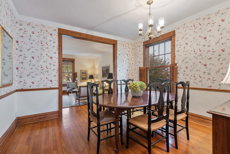 Real Estate Photography - 1621 Lake Ave., Wilmette, IL, 60091 - Dining Room