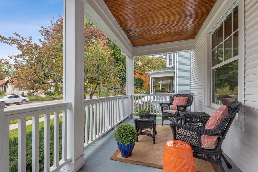 Real Estate Photography - 1621 Lake Ave., Wilmette, IL, 60091 - Porch