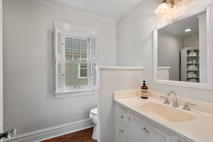 Real Estate Photography - 1621 Lake Ave., Wilmette, IL, 60091 - Bathroom