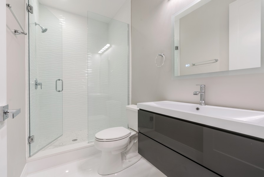 Real Estate Photography - 4959 S St Lawrence Ave, Chicago, IL, 60615 - 3rd Bathroom