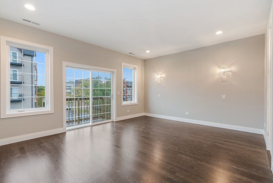 Real Estate Photography - 4959 S St Lawrence Ave, Chicago, IL, 60615 - Master Bedroom