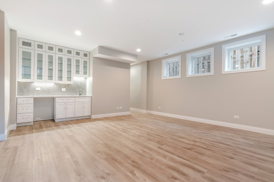 Real Estate Photography - 4959 S St Lawrence Ave, Chicago, IL, 60615 - Lower Level