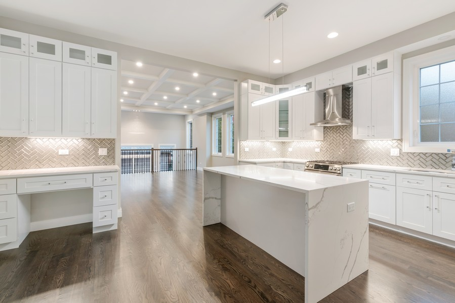 Real Estate Photography - 4959 S St Lawrence Ave, Chicago, IL, 60615 - Kitchen