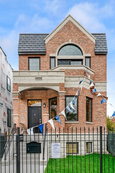 Real Estate Photography - 4959 S St Lawrence Ave, Chicago, IL, 60615 - Front View