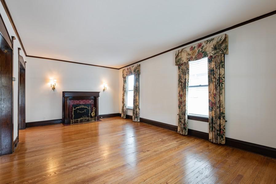 Real Estate Photography - 2329 Ridge, Evanston, IL, 60201 - Living Room