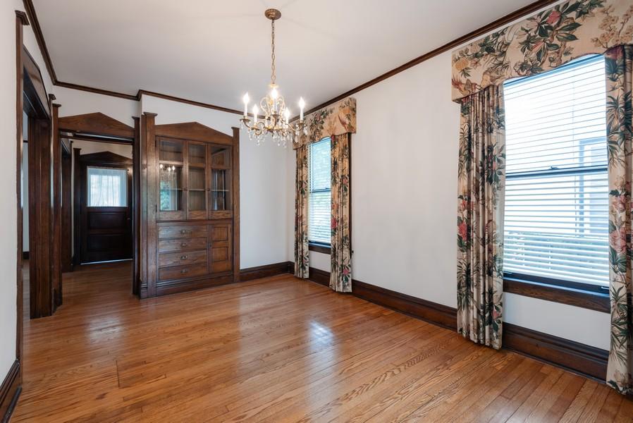 Real Estate Photography - 2329 Ridge, Evanston, IL, 60201 - Dining Room