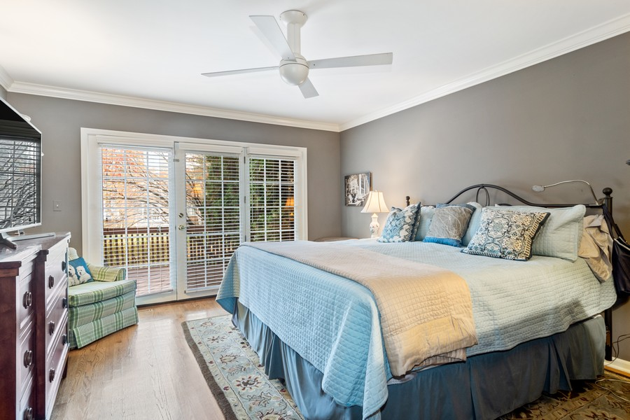 Real Estate Photography - 1168 Lynette, Lake Forest, IL, 60045 - Master Bedroom