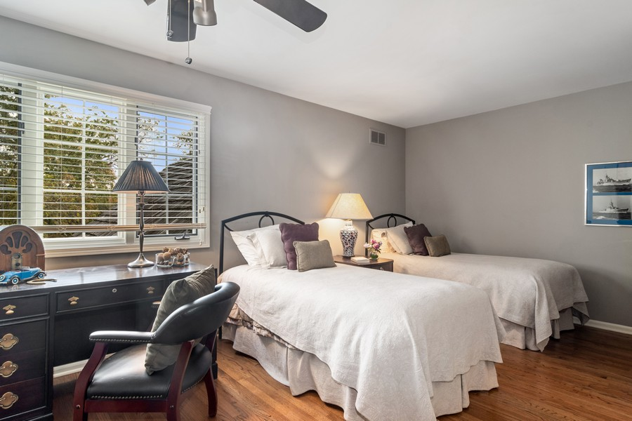 Real Estate Photography - 1168 Lynette, Lake Forest, IL, 60045 - 2nd Bedroom