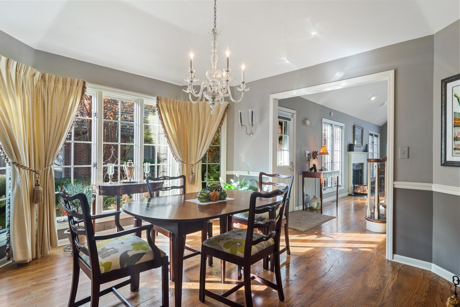 Real Estate Photography - 1168 Lynette, Lake Forest, IL, 60045 - Dining Room