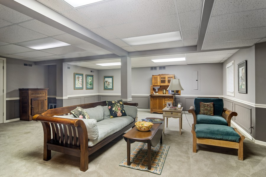 Real Estate Photography - 1168 Lynette, Lake Forest, IL, 60045 - Basement