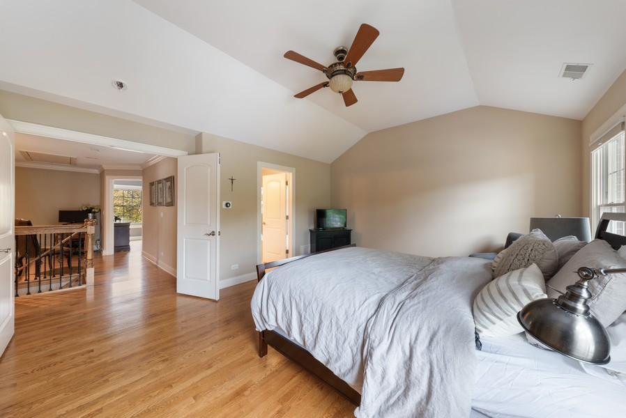 Real Estate Photography - 827 N. Princeton, Arlington Heights, IL, 60004 - Master Bedroom