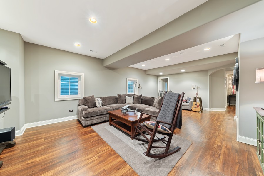 Real Estate Photography - 827 N. Princeton, Arlington Heights, IL, 60004 - Recreational Room