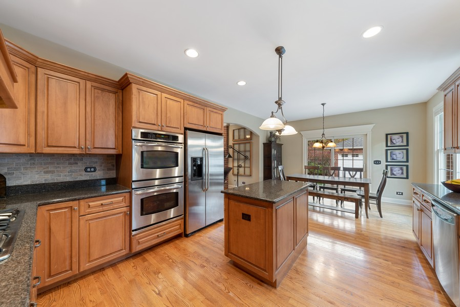 Real Estate Photography - 827 N. Princeton, Arlington Heights, IL, 60004 - Kitchen / Breakfast Room