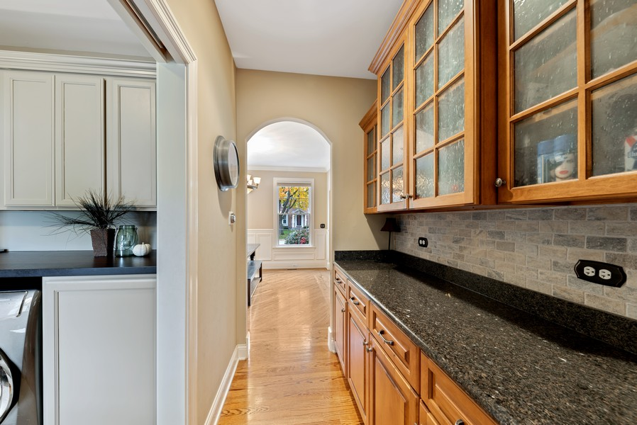 Real Estate Photography - 827 N. Princeton, Arlington Heights, IL, 60004 - Butler's pantry