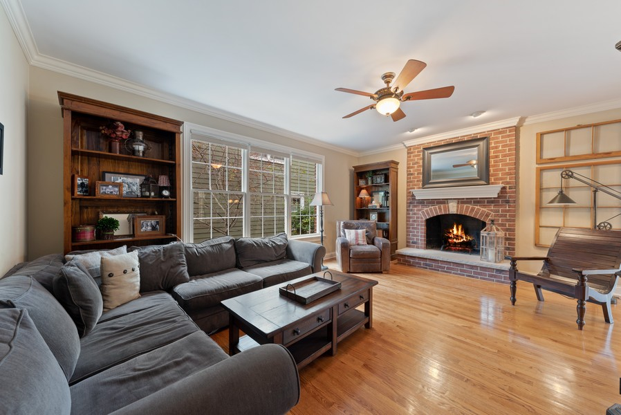 Real Estate Photography - 827 N. Princeton, Arlington Heights, IL, 60004 - Family Room