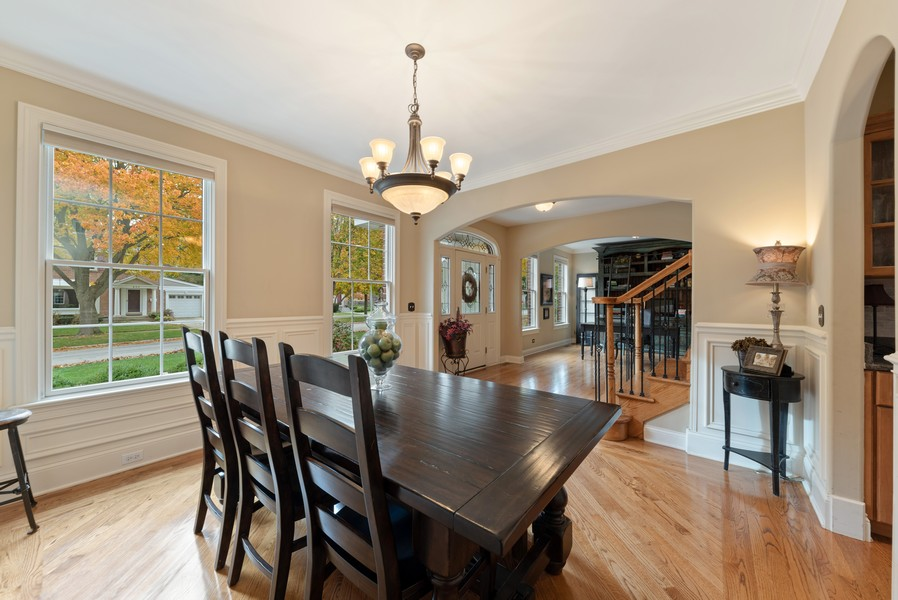 Real Estate Photography - 827 N. Princeton, Arlington Heights, IL, 60004 - Dining Room