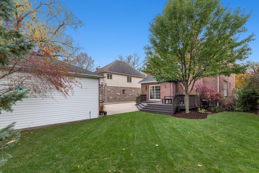 Real Estate Photography - 827 N. Princeton, Arlington Heights, IL, 60004 - Rear View
