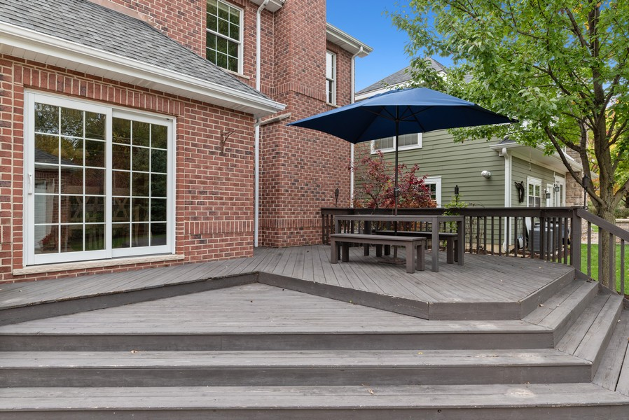 Real Estate Photography - 827 N. Princeton, Arlington Heights, IL, 60004 - Deck
