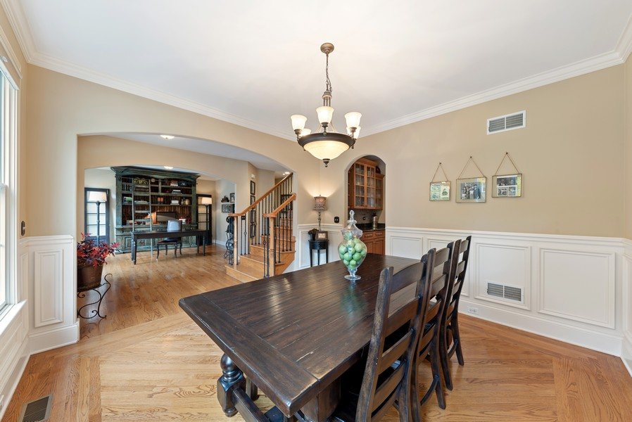 Real Estate Photography - 827 N. Princeton, Arlington Heights, IL, 60004 - Living Room / Dining Room