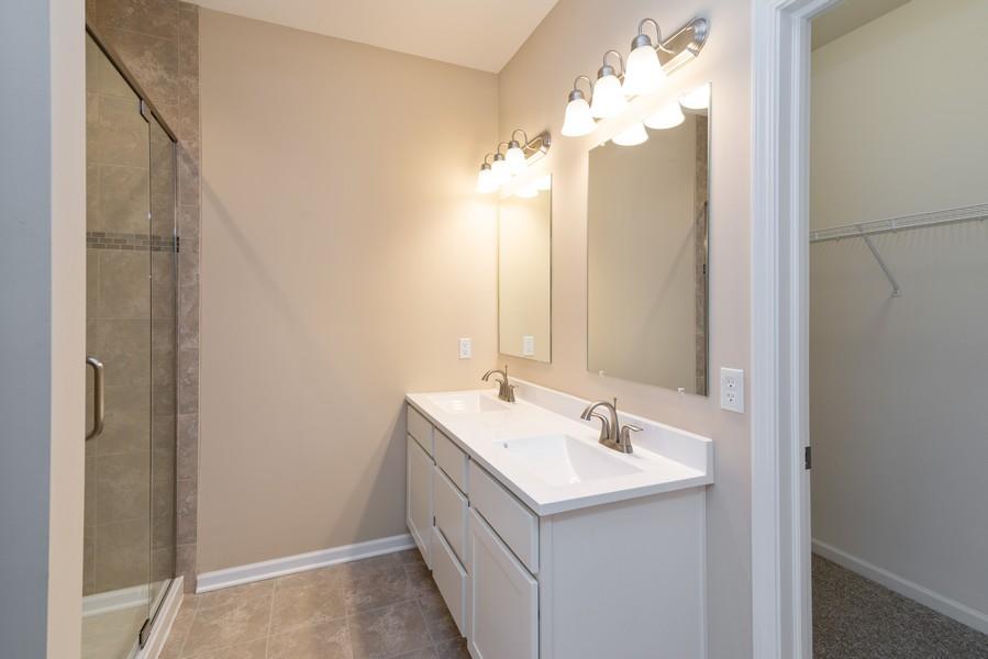 Real Estate Photography - 9228 Mill Creek Rd, Cedar Lake, IN, 46303 - Master Bathroom