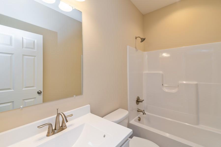 Real Estate Photography - 9228 Mill Creek Rd, Cedar Lake, IN, 46303 - 2nd Bathroom