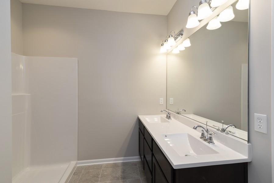 Real Estate Photography - 9285 Mill Creek Rd, Cedar Lake, IN, 46303 - Master Bathroom