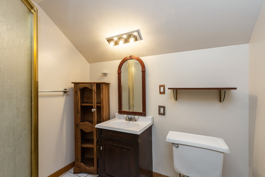 Real Estate Photography - 765 Governor Rd, Valparaiso, IN, 46385 - 2nd Bathroom