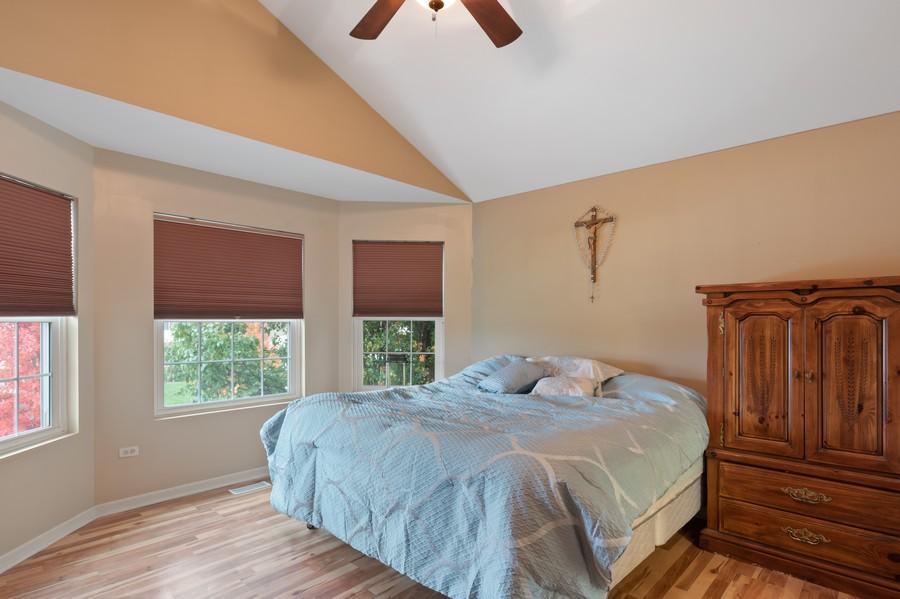 Real Estate Photography - 29930 Trim Creek Lane, Beecher, IL, 60401 - Master Bedroom