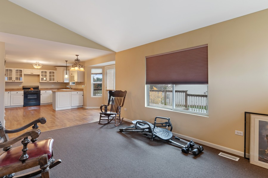 Real Estate Photography - 29930 Trim Creek Lane, Beecher, IL, 60401 - Family Room