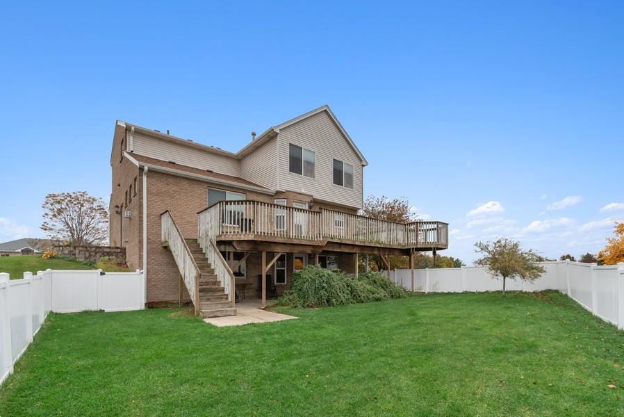 Real Estate Photography - 29930 Trim Creek Lane, Beecher, IL, 60401 - Rear View