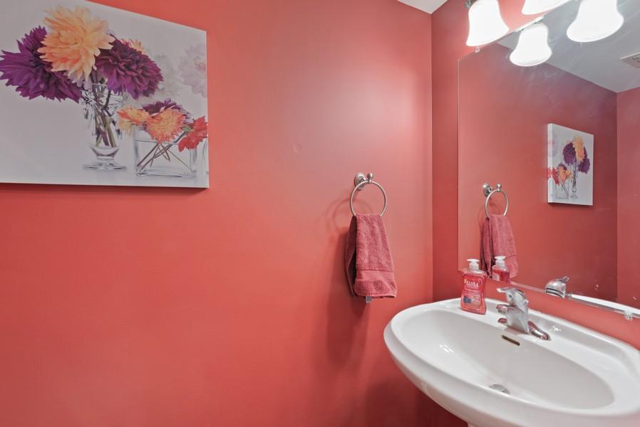 Real Estate Photography - 29930 Trim Creek Lane, Beecher, IL, 60401 - Half Bath