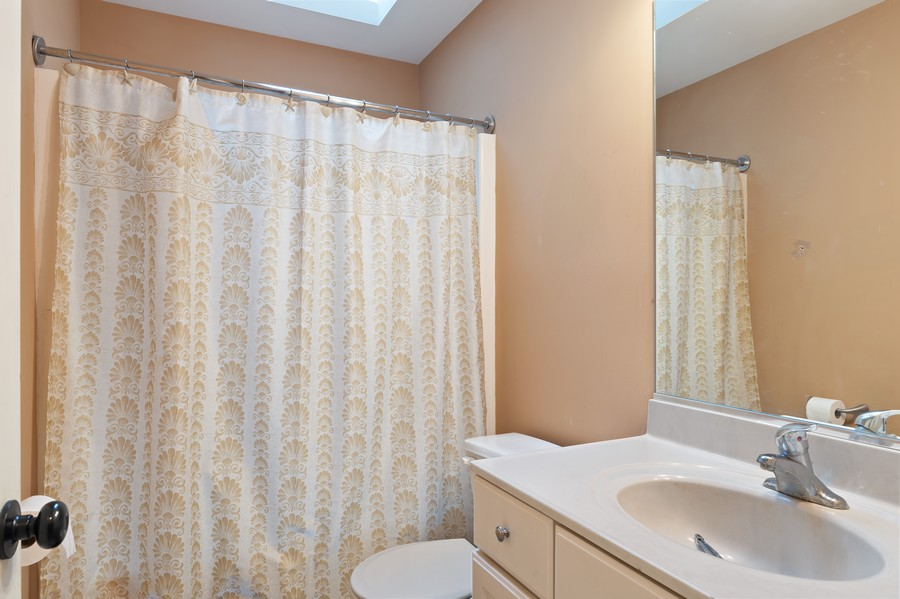 Real Estate Photography - 29930 Trim Creek Lane, Beecher, IL, 60401 - 2nd Bathroom