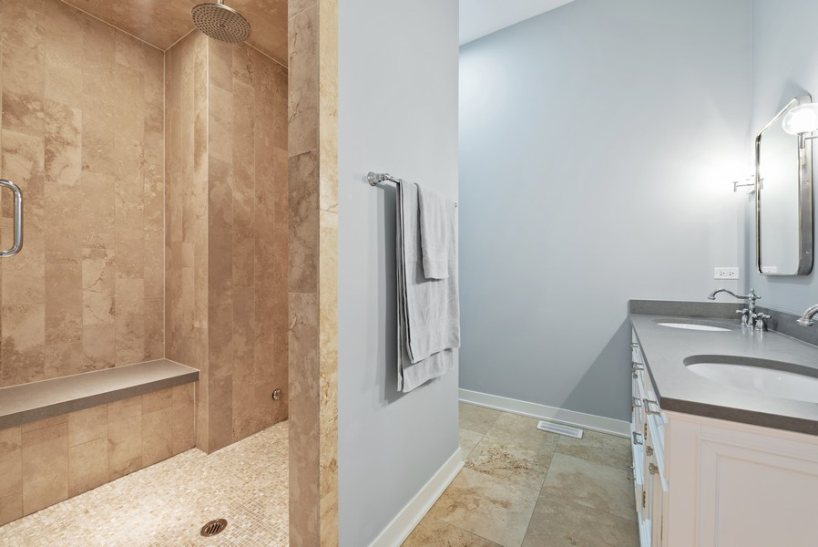 Real Estate Photography - 1012 W Lake St #2, Chicago, IL, 60607 - Master Bathroom