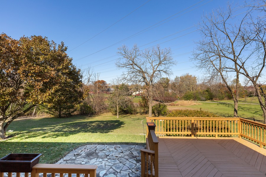 Real Estate Photography - 7630 W. 131st Street, Palos Heights, IL, 60463 - Back Yard