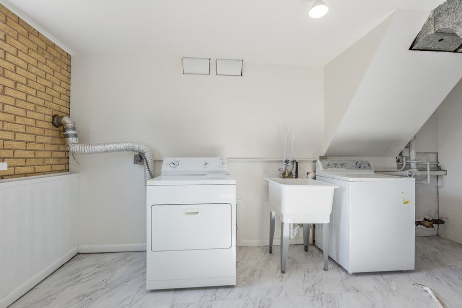 Real Estate Photography - 7630 W. 131st Street, Palos Heights, IL, 60463 - Laundry Room