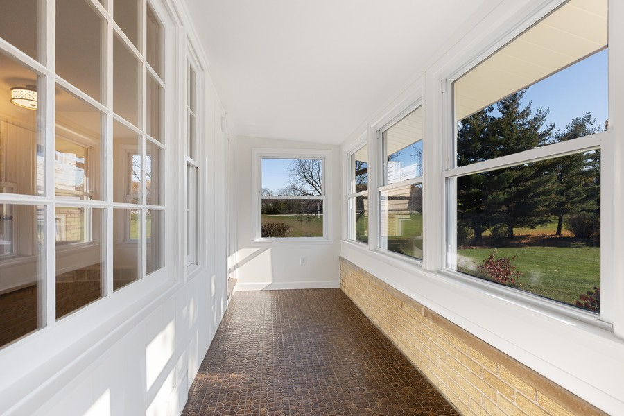 Real Estate Photography - 7630 W. 131st Street, Palos Heights, IL, 60463 - Porch