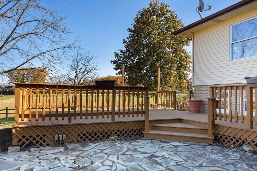 Real Estate Photography - 7630 W. 131st Street, Palos Heights, IL, 60463 - Patio
