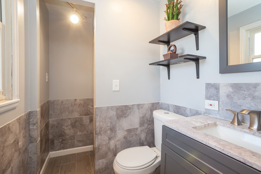 Real Estate Photography - 1100 S Springinsguth Rd., Schaumburg, IL, 60193 - Master Bathroom