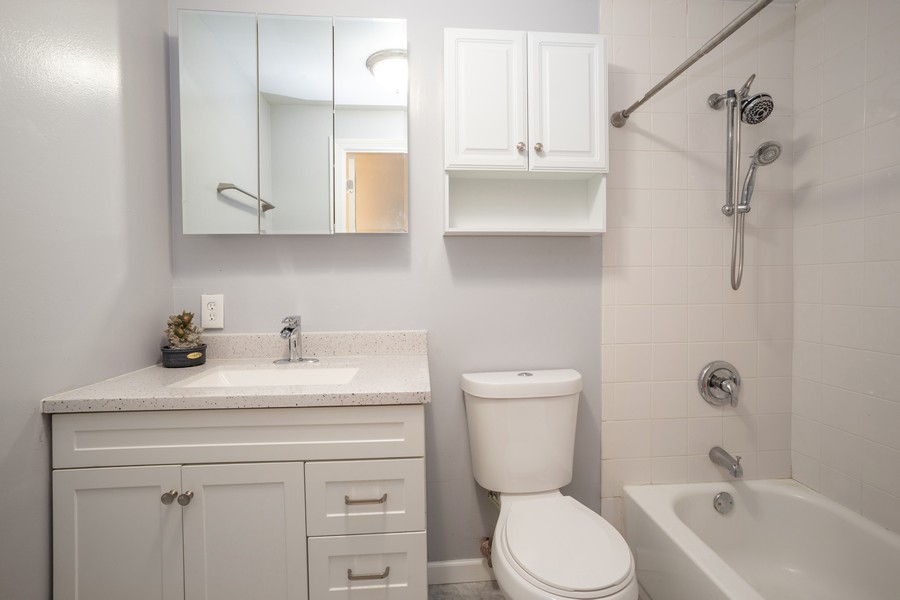 Real Estate Photography - 1100 S Springinsguth Rd., Schaumburg, IL, 60193 - Bathroom