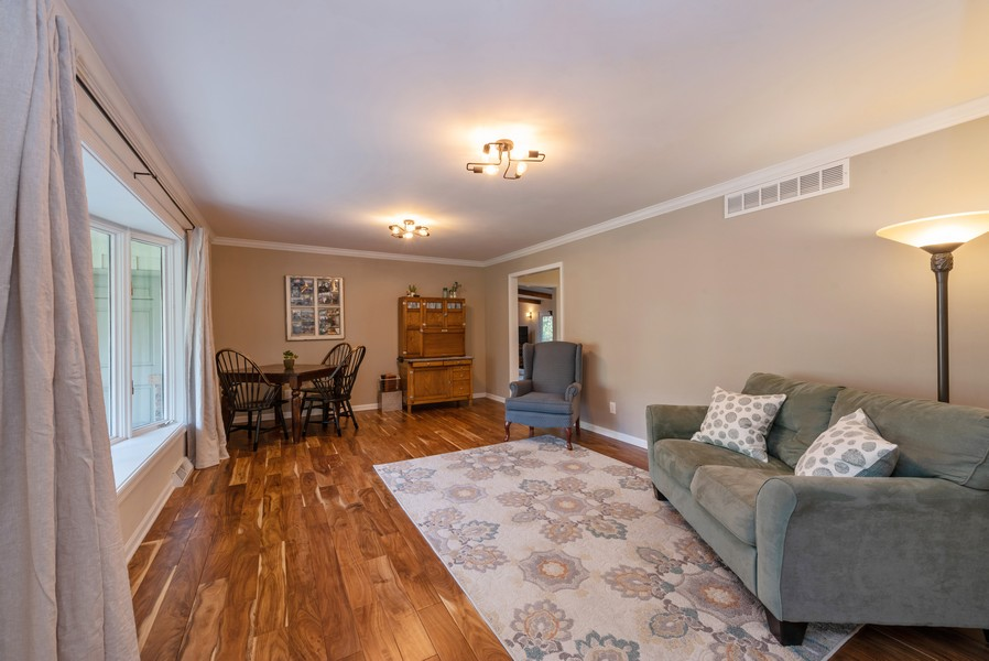 Real Estate Photography - 2051 Lawndale Dr, Valparaiso, IN, 46383 - Living Room
