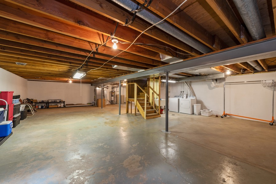 Real Estate Photography - 2051 Lawndale Dr, Valparaiso, IN, 46383 - Basement