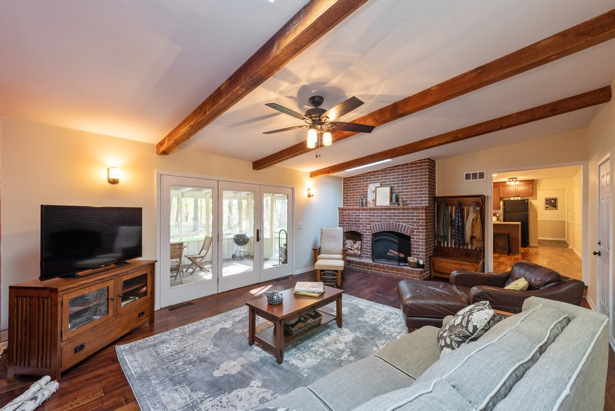Real Estate Photography - 2051 Lawndale Dr, Valparaiso, IN, 46383 - Family Room