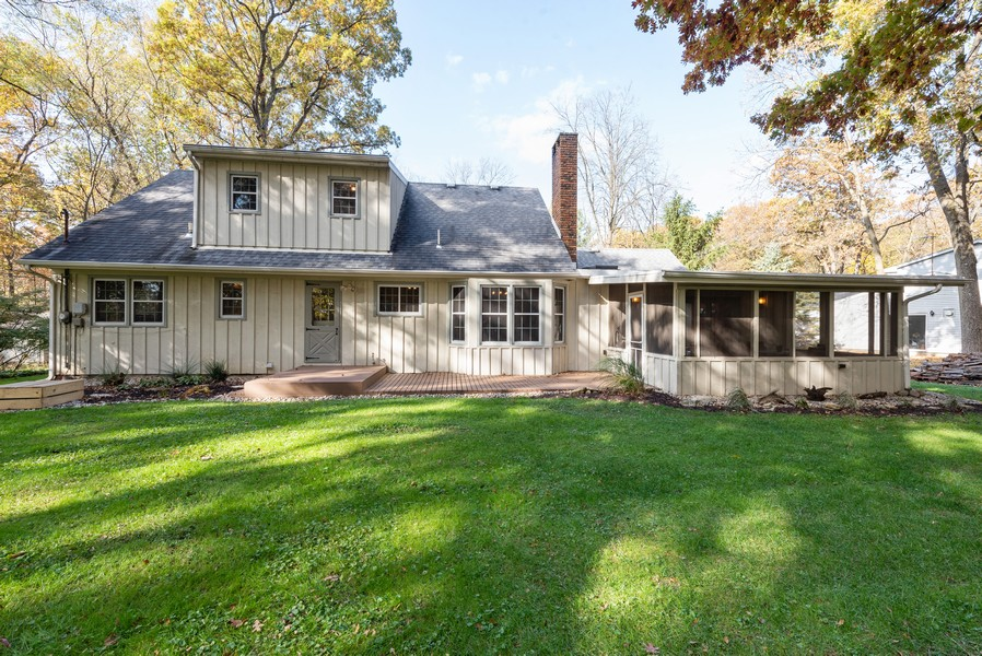 Real Estate Photography - 2051 Lawndale Dr, Valparaiso, IN, 46383 - Rear View
